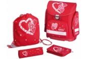 Ghiozdan echipat Midi HeartBeat Herlitz