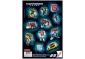 Bloc desen A4 cu stickere Transformers Herlitz