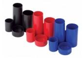 Suport instrumente de scris 4 tuburi rosu