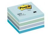 Notite adezive 76 x 76 mm cub Post-it 3M albastru pastel