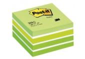 Notite adezive 76 x 76 mm cub Post-it 3M verde pastel