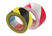 Banda de marcat Tesa 50 mm x 33 m rosu-alb