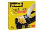 Banda dublu adeziva Scotch 3M 19 mm x 32.9 m