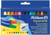 Creioane cerate rotunde Pelikan set 12 culori