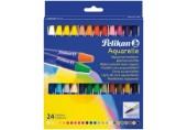 Creioane cerate rotunde Pelikan set 24 culori