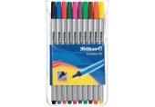 Fineliner 96 set 10 culori asortate Pelikan