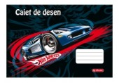 Caiet desen 24 file Hot Wheels