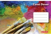 Caiet desen 24 file Rock your School Herlitz