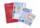 Port - acte coperta plastic pasaport