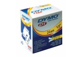 Caseta D1 Dymo 24 mm x 7 m negru / alb