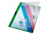 Dosar A4 din plastic Clipsy Plus Leitz verde