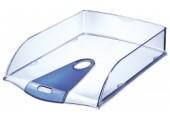 Tavita A4 pentru documente Allura Leitz transparent-albastru