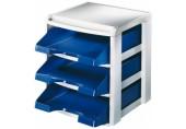 Suport tavite Plus Leitz albastru