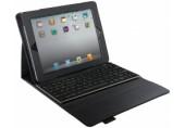 Carcasa cu capac si tastatura pentru noul iPad / iPad 2 QWERTZ Complete Tech Grip LEITZ