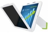 Carcasa cu filtru de confidentialitate landscape pentru iPad mini Complete Privacy LEITZ alb