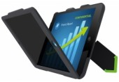 Carcasa cu filtru de confidentialitate landscape pentru iPad mini Complete Privacy LEITZ negru