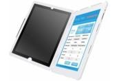 Carcasa cu filtru de confidentialitate portrait pentru noul iPad/iPad 2 Complete Privacy LEITZ alb