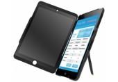 Carcasa cu filtru de confidentialitate portrait pentru iPad mini Complete Privacy LEITZ negru