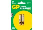 Baterii AAA Super Alkaline R3 2/set GP