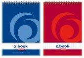 Bloc notes A6 50 file spirala dr X.Book Herlitz
