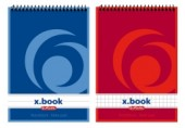 Bloc notes A6 50 file spirala ar X.Book Herlitz