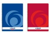 Caiet spirala A4 160 file ar X.BOOK Herlitz