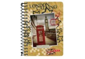 Bloc notes 200f ar spirala City Trips London Herlitz