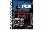 Bloc notes 10x14 cm 200f ar spirala City Trips Berlin Herlitz