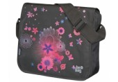 Geanta de umar Be.Bag Messenger Pink Butterflies Herlitz