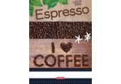 Caiet spirala A4 100 file dr Coffee Herlitz