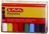 Plastilina 8 culori economic Herlitz