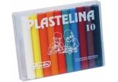 Plastilina 10 culori economic Herlitz