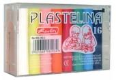 Plastilina 16 culori economic Herlitz