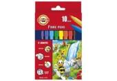 Carioca 10 culori/set Bees 7710 Koh-I-Noor