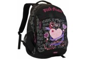 Ghiozdan liceu Pink Heart Kooh-I-Noor