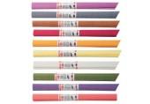 Hartie creponata - set 10 culori mix Koh-I-Noor