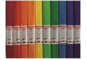 Hartie creponata - set 10 culori curcubeu Koh-I-Noor